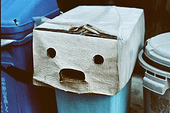 Shocked face carton